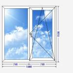 двухстворчатое окно копия